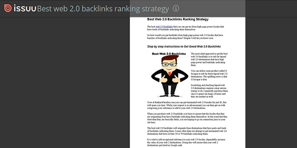 Then you will have a free doc share backlink
