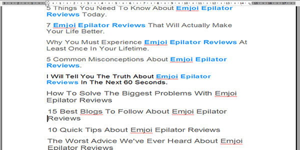 You will now have 10 free blog article titles to use absolutely free