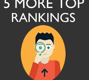 5 More Keywords 5 More Top Rankings in three months