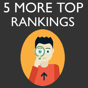 5 More Keywords 5 More Top Rankings in three months
