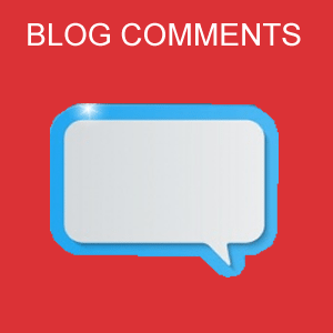 Now go ahead and get niche relevant blog comment backlinks