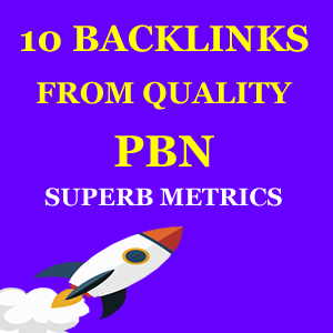10 backlinks from pbn sites high da