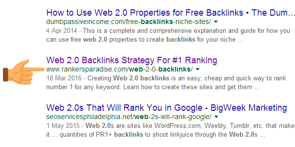Make sure that your keyword is in your URL