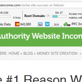 Take a look at the stats of the site that gives the top ranking site a backlink