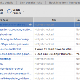 Take a look at the backlinks