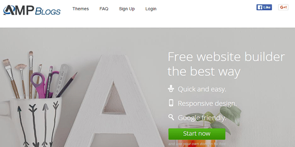 Set up your final Web 2.0 site on AMP Blogs