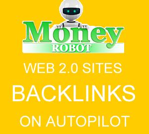 Money Robot backlink maker software