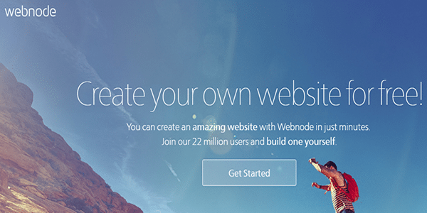 Create your second Web 2.0 site on the Webnode platform