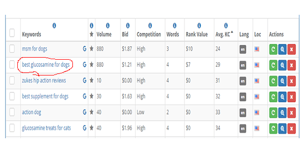 This is the best keyword research tool I have ever used