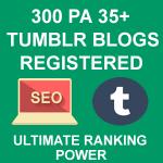 Register 300 High PA Tumblr Blogs
