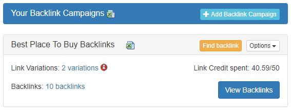 Buy Backlinks For $1