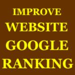 Improve Website Google Ranking
