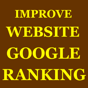 Improve Website Google Ranking