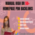 3 dr 50 to 60 homepage backlinks