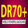 100 DR 70 DO FOLLOW Backlinks