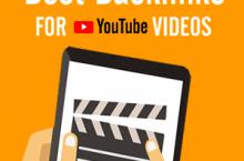 Best Backlinks For YouTube Videos