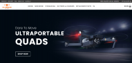 Turnkey Drone Solutions Dropshipping Website