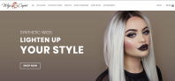 Hair  Extensions Wigs WordPress Dropshipping Website Ready to make you $$$$$